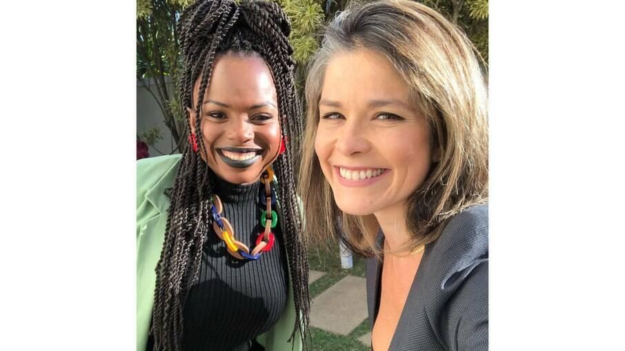 Samara Felippo conversa com Luana Génot sobre racismo e criação das filhas