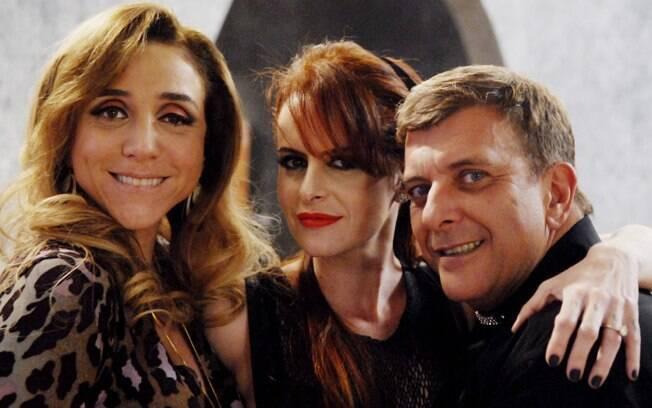Marisa Orth, Fernanda Young e Jorge Fernando em