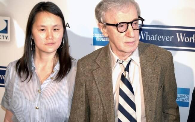 Woody Allen foi algo de críticas quando sua traição com filha adotiva veio à tona na mídia