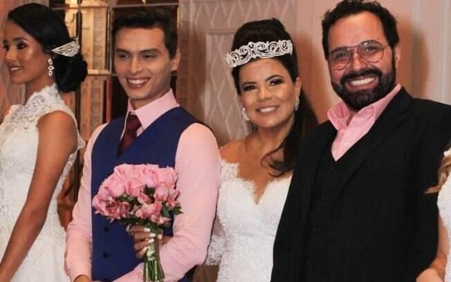 Gabriel Torres, Mara Maravilha e Marcos Guerreiro no workshop Grand Wedding