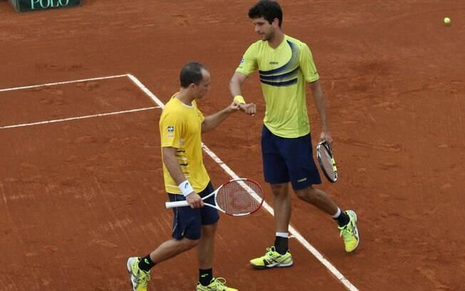 Bruno Soares e Marcelo Melo jogaram por dois anos juntos
