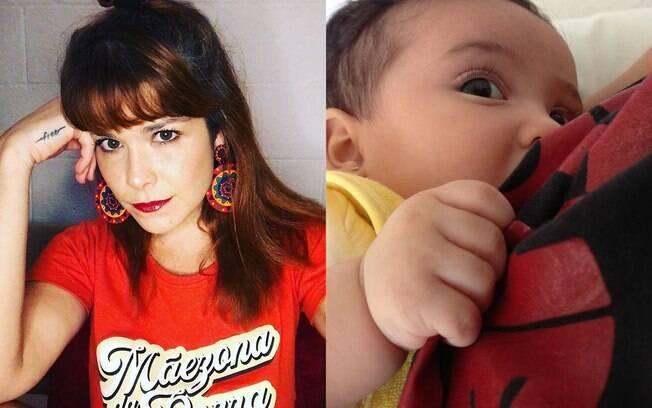 Samara Felippo fala sobre sua experiência com a amamentação