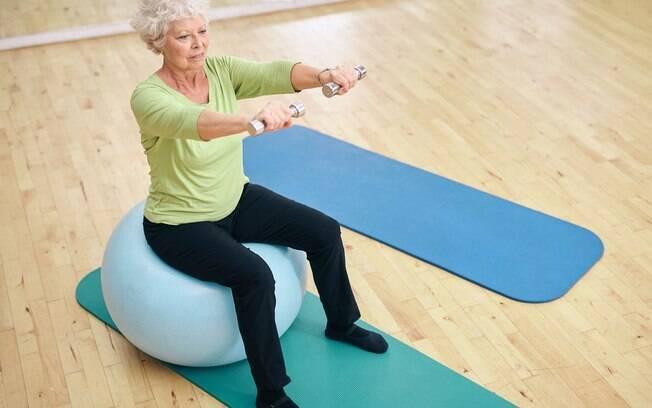 É importante manter a atividade física depois dos 50, dos 60...