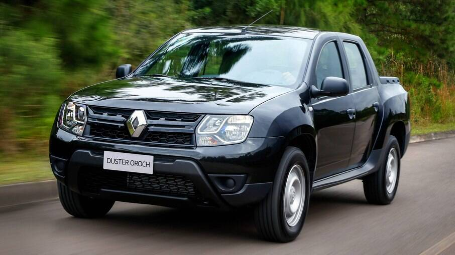 Renault Duster Oroch: foi lançada um pouco antes que a rival Fiat Toro, mas acabou ficando mais voltada para frotistas