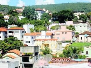 Contente. Vista de Pitangui, cidade da região Central de Minas onde os 667 servidores públicos municipais vão receber o 13º salário em dia.