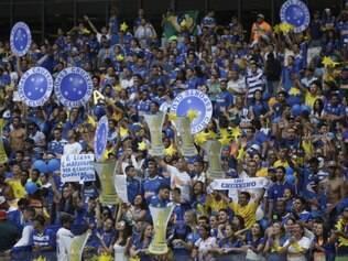 Esportes - Campeonato Brasileiro 2014 -  Jogo Cruzeiro x Fluminense ultima rodada do Campeonato Brasileiro 2014, no Estadio Mineirao em Belo Horizonte MG. Foto: Alex de Jesus/ O Tempo 07/12/2014