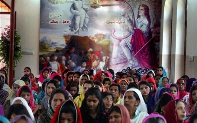 Cristãos comemoram a Páscoa no Paquistão (5 de abril)