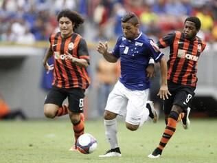 Judivan deixou a sua marca e fez o único gol celeste no amistoso