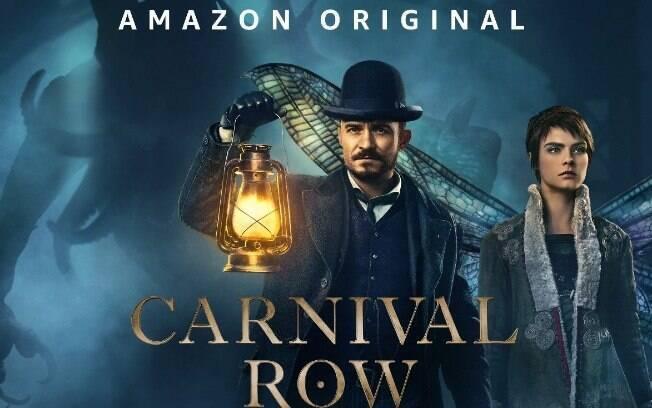 Amazon Prime Video divulga trailer oficial de Carnival Row, estrelado por Orlando Bloom e Cara Delevingne