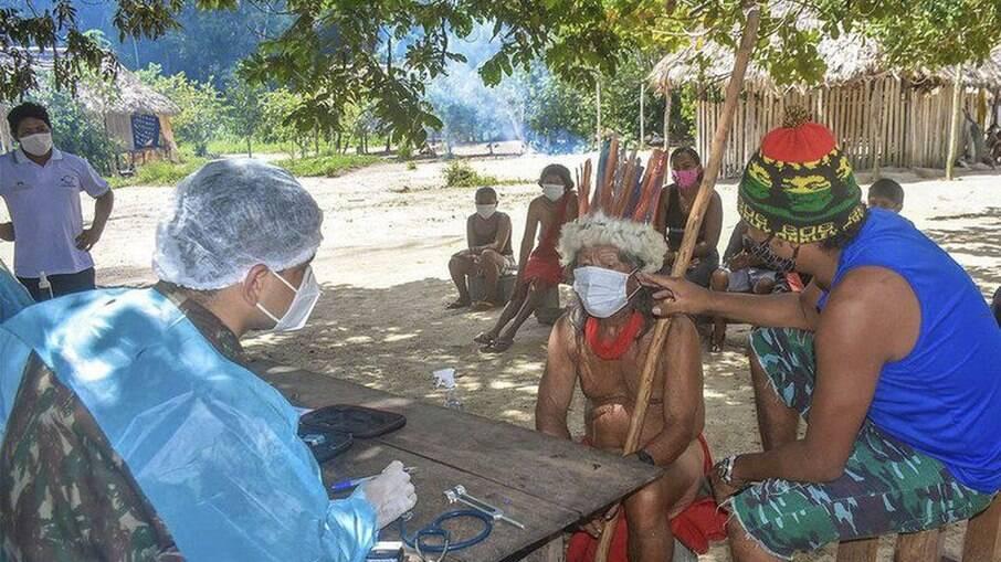 Barreiras em áreas indígenas devem ser feitas para evitar disseminação da covid-19 na população loca