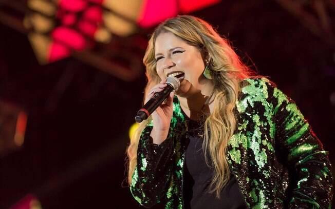 marília Mendonça teve bens bloqueados pela Justiça. Cantora cancelou shows em Araguari (MG) e público não foi reembolsado