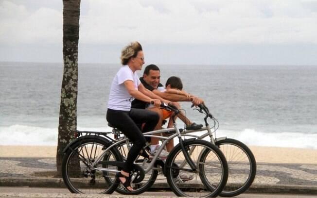 Ana Maria Braga, Marcelo e o filho mais novo do empresário, Luiz Henrique