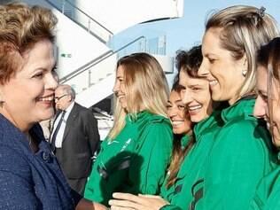 Dilma parabenizou atletas brasileiros que participam dos Jogos Sul-Americanos