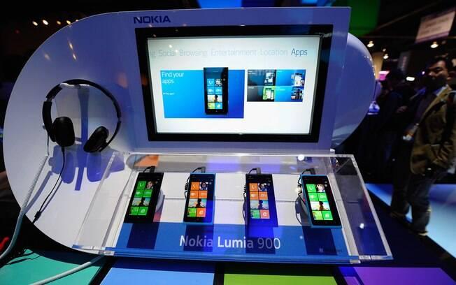 Com apoio da Microsoft, a Nokia foi destaque entre os fabricantes de smartphones com o Lumia 900