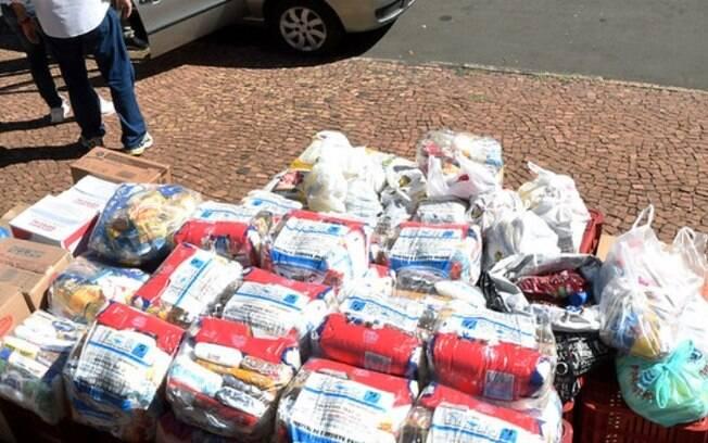 Eptv promove 3ª campanha de arrecadação de alimentos hoje