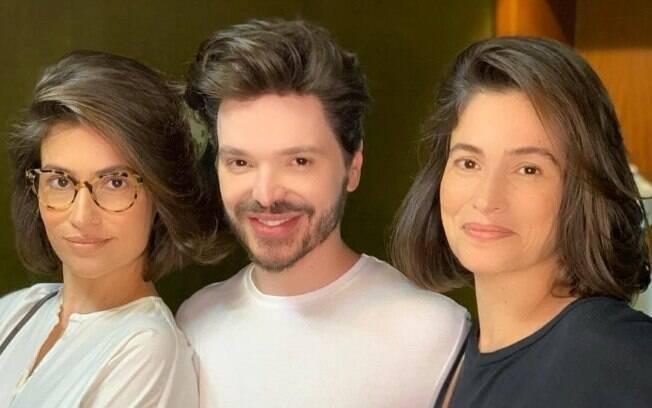 Renata Vasconcellos e a irmã, Lanza Mazza, vão ao mesmo hair stylist