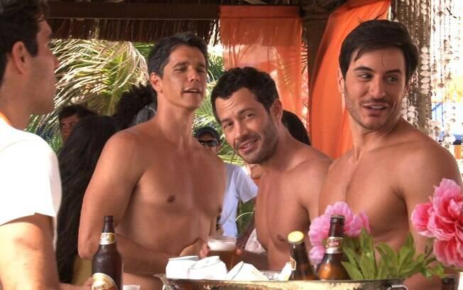 Márcio Garcia, Malvino Salvador e Ricardo Tozzi