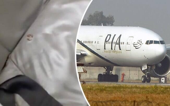 Uma infestação de baratas fez passageiros entrarem em pânico no Paquistão