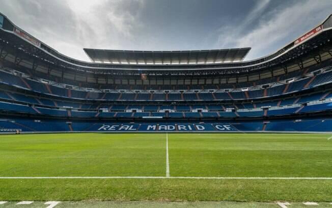 O Santiago Bernabéu é a casa do Real Madrid, um dos principais times da Espanha e do mundo
