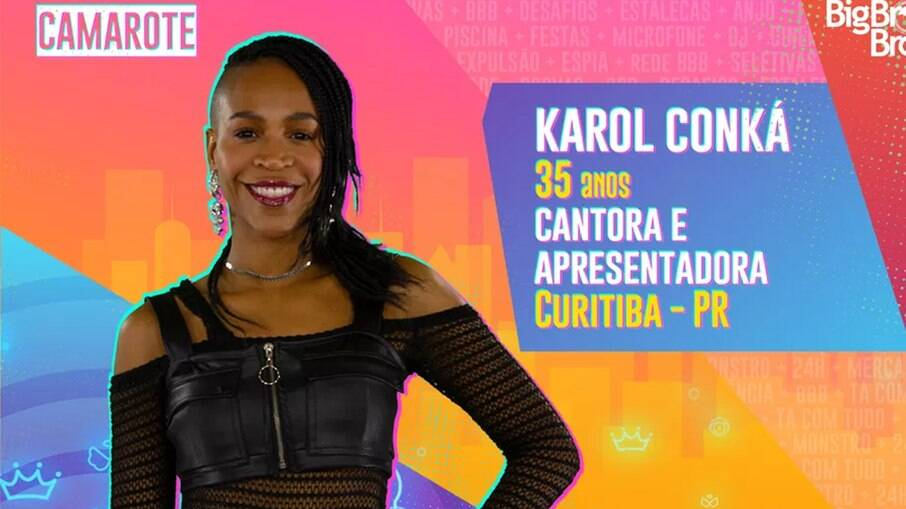 Karol Conká estará no