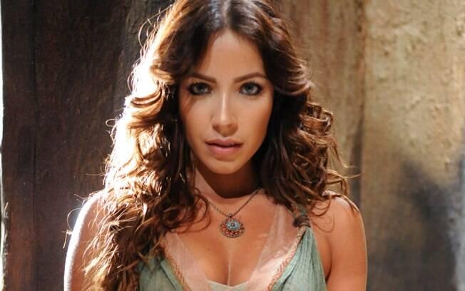 Renata Dominguez interpreta Bate Seba na série da Record