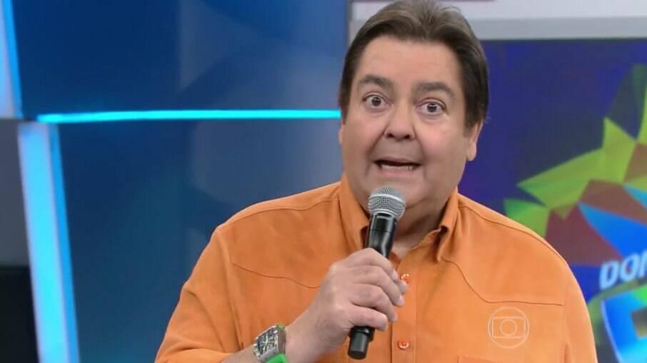 Apresentador Fausto Silva, o Faustão