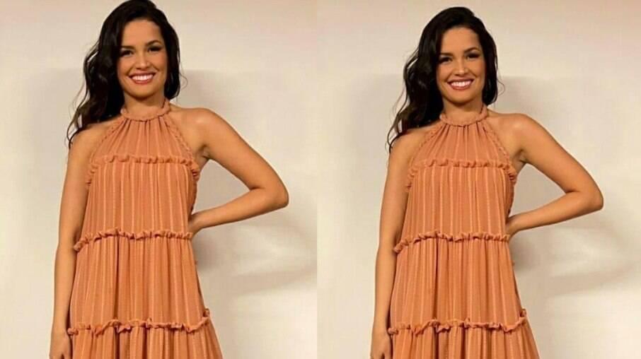 Juliette usa vestido e peça esgota em site da marca