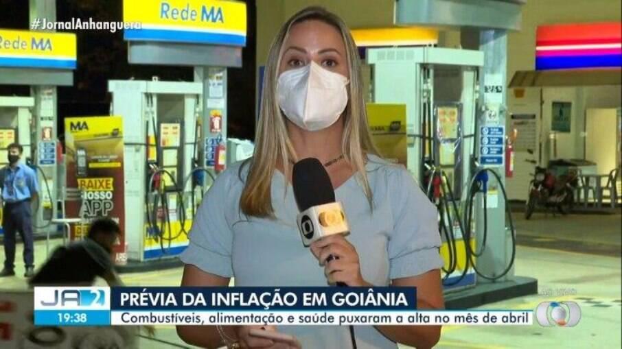 Camila Faraco, repórter da Globo