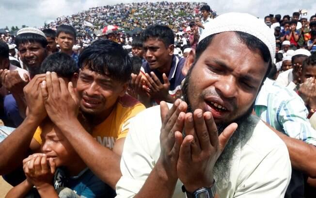 Segundo informações, refugiados Rohingya estavam em isolamento