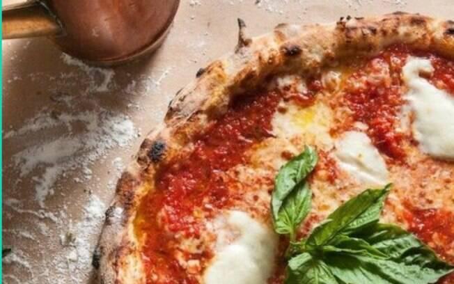 A pizza Margherita é uma pedida mais leve e melhor para encaixar na dieta