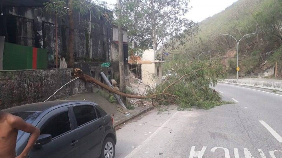 Rio terá chuvas e rajadas de vento moderadas e fortes nesta quarta (22)