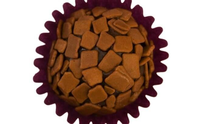 Foto da receita Brigadeiro de chocolate pronta.