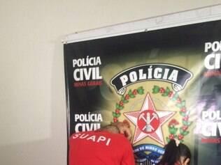 Casal foi preso em uma locadora de vídeos