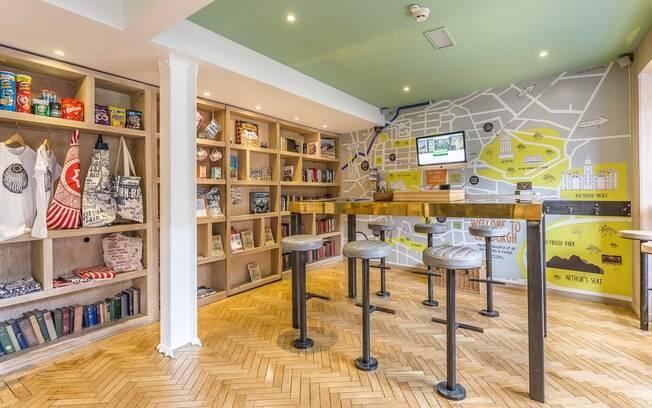 Grassmarket Hotel, Edimburgo, Reino Unido, é uma das hospedagens indicadas para quem é apaixonado por HQs