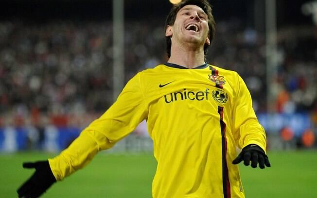 O argentino Messi foi o melhor do mundo em  2009
