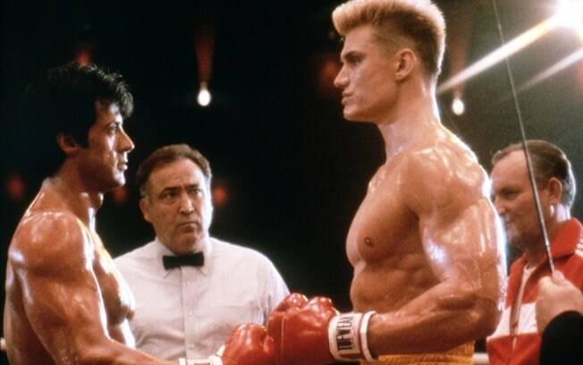 Rocky IV traz como grande inimigo um russo sem sentimentos