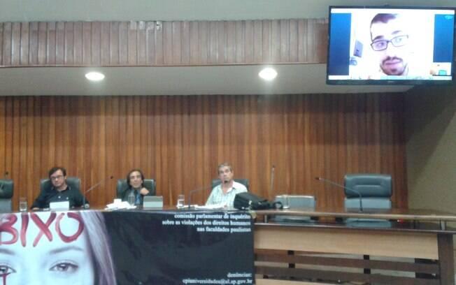 Alunos são obrigados a ingerir fezes e vômito em trotes da faculdade de medicina da Puc, em Sorocaba, interior de SP. Relato foi feito por estudante à CPI via Skype (14.01.15). Foto: Ana Flávia Oliveira/iG São Paulo