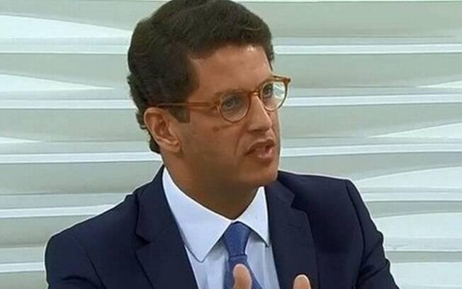 O ministro Ricardo Salles