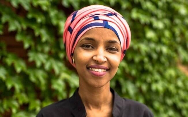 Ilhan Omar recebeu apoio dos democratas