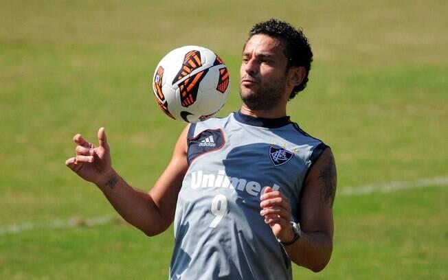 Artilheiro do Brasileiro de 2012, Fred segue  como nome do Fluminense para esse ano