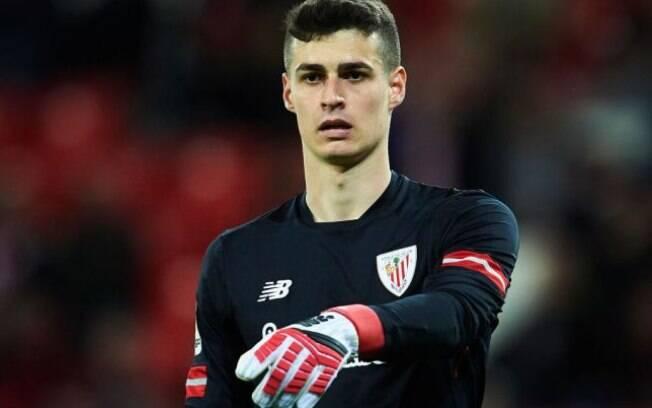 Goleiro mais caro da história em campo pelo Athletic Bilbao