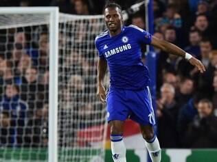 Drogba fez seu primeiro gol em retorno ao Chelsea