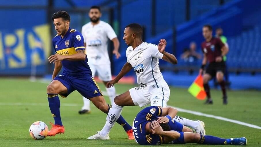 Boca Juniors e Santos se reencontram na Libertadores