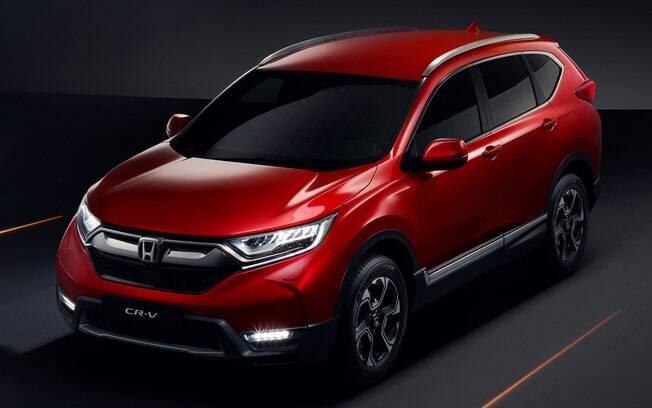 Honda CR-V: nova geração vai desembarcar no primeiro semestre no Brasil com aspecto mais sofisticado
