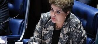 """Presidente afastada Dilma prepara pronunciamento contra """"ruptura"""""""