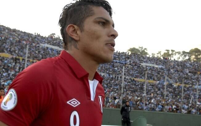 Atacante é titular absoluto da seleção do  Peru