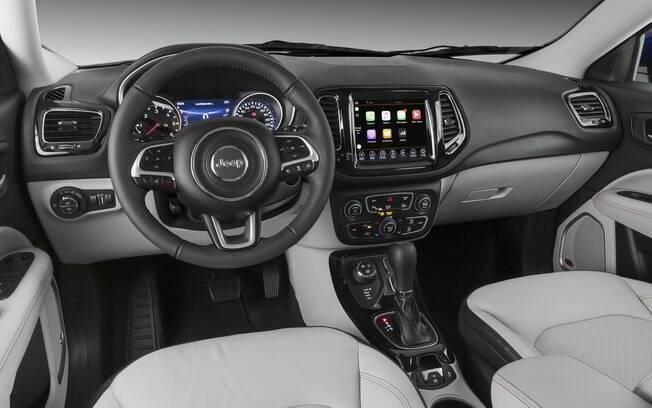 Jeep Compass 2019 pode vir com pacote Hi-Tech como opcional da versão Limited por R$ 8.700 extras