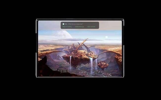 Oppo X 2021: marca chinesa mostra primeiro celular com tela enrolável