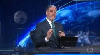 Bonner defende repórter que Bolsonaro mandou calar a boca