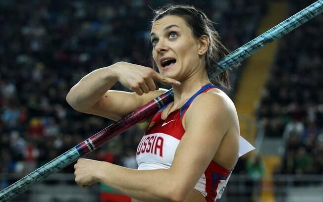 Russa saltou 4,8 metros e garantiu o título  do Mundial indoor de Instambul